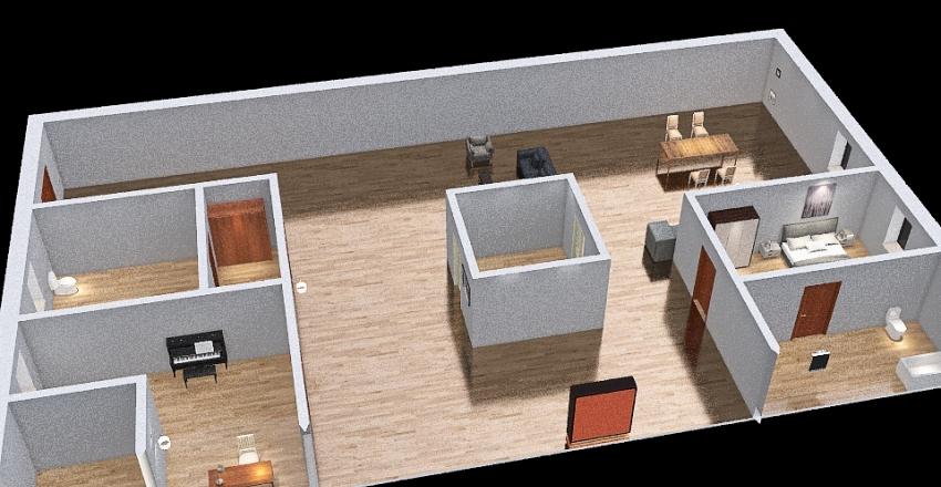 Casa Scuola  Interior Design Render