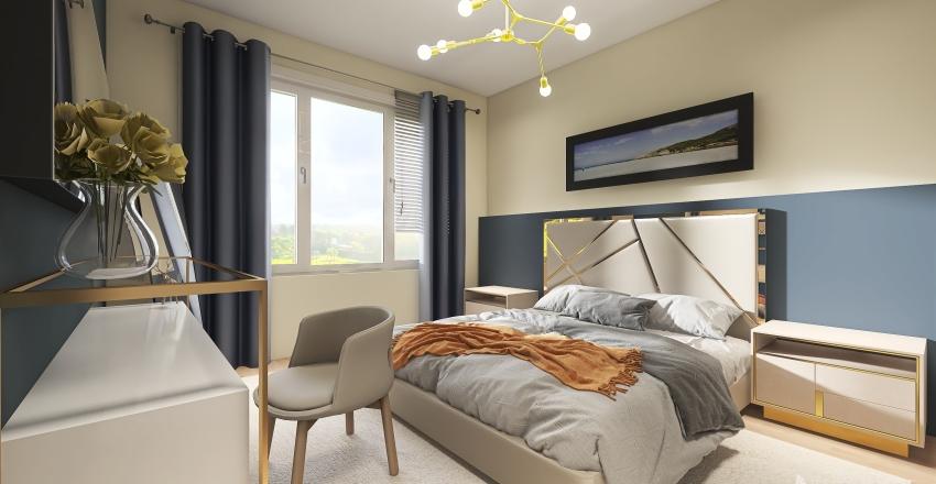 v2_bedroom Interior Design Render