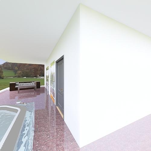Casa vacaciones Interior Design Render