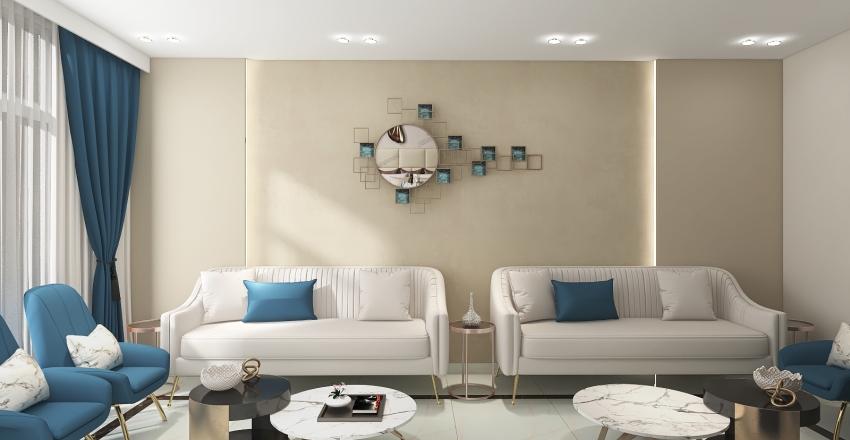 VILLA MR-ADEL-MEN'S MAJLIS Interior Design Render