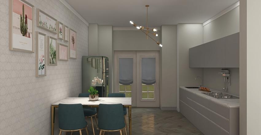 Porzione A Interior Design Render