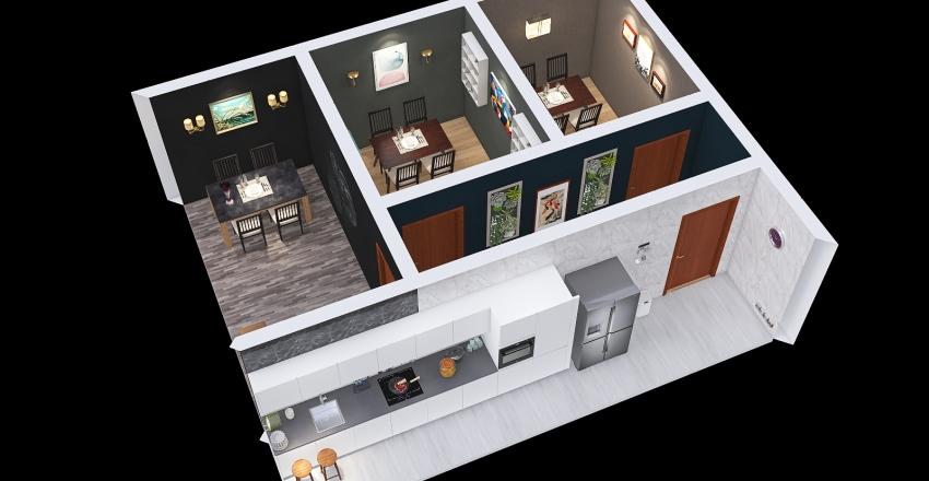 Room v2 Interior Design Render