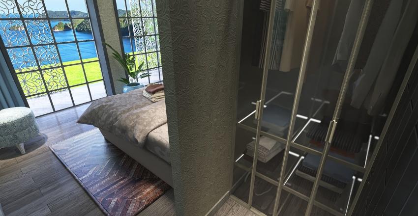 Modul-hus Interior Design Render