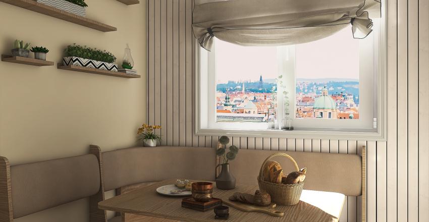 Apartment in Prague  - #HSDA2020Residential Interior Design Render