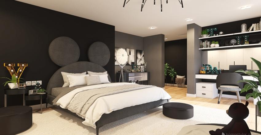 233 Interior Design Render