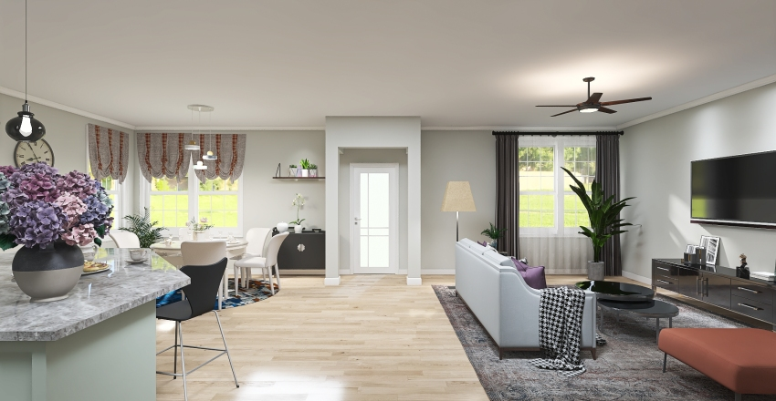 WChome Interior Design Render
