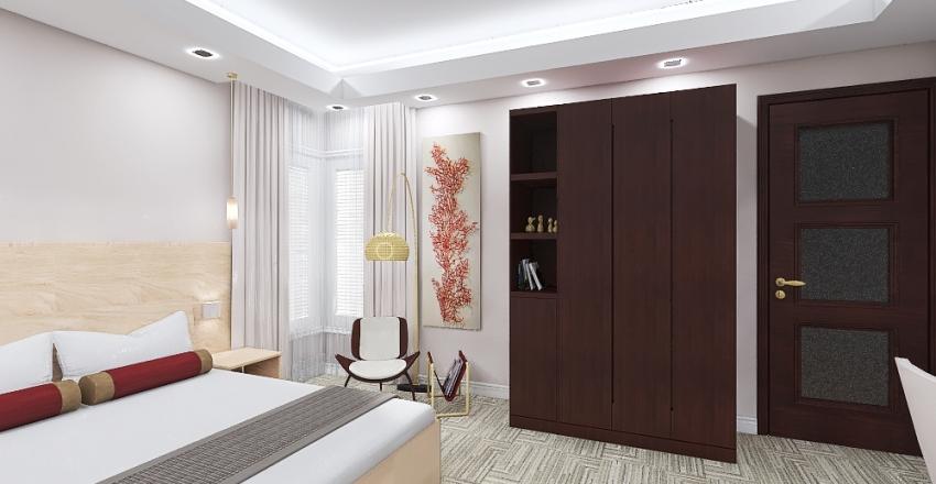 deluxe suite Interior Design Render