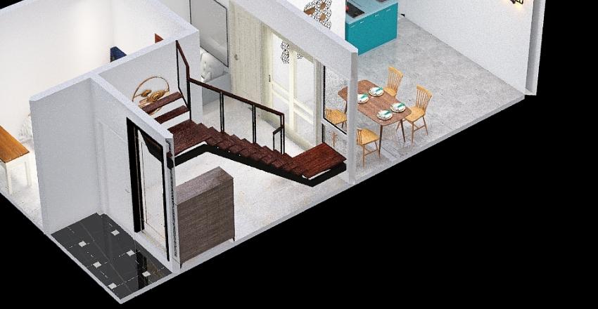 Design Rumah Aldiva B15 Interior Design Render