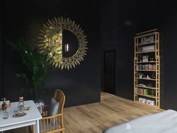 Copy of mountain cottage villa Interior Design Render