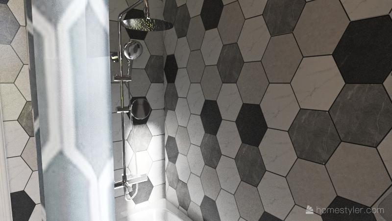 1800 sqft Interior Design Render