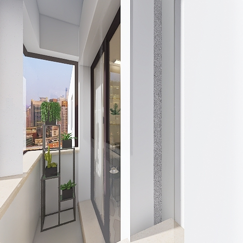 Apto São Paulo Interior Design Render