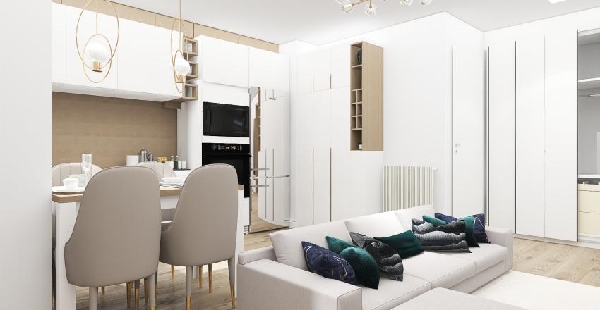 Alexandra's flat Interior Design Render