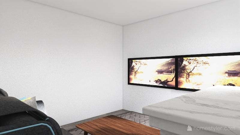 Movie Theatre Interior Design Render