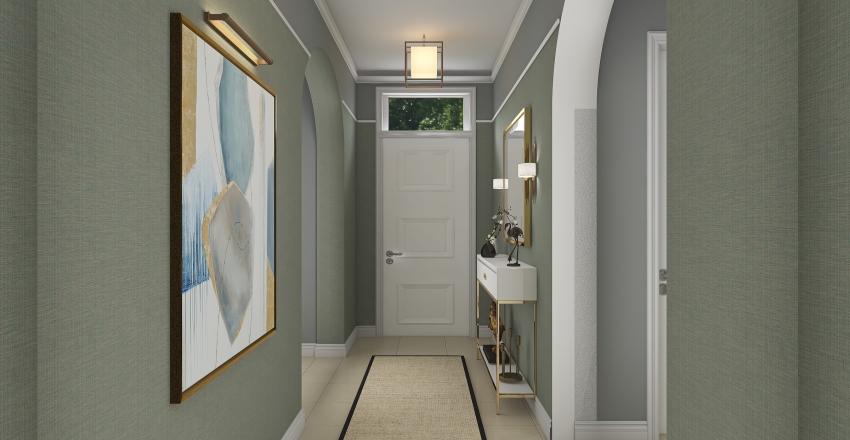 Hallway project Interior Design Render