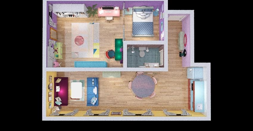 Projeto Max Hauss Interior Design Render