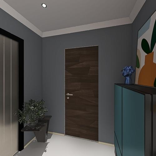 HOTEL ROOM DECORATION Interior Design Render
