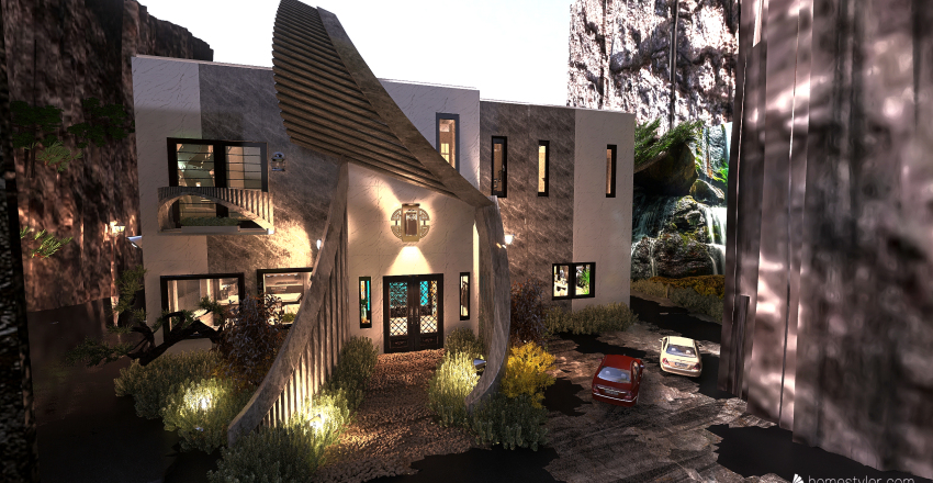 #HSDA2020RESIDENTIAL - Mountain Hide Out Interior Design Render