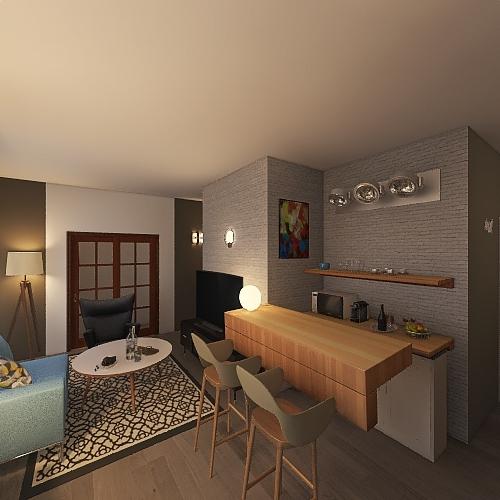 Copy of Villa 2021 A Interior Design Render