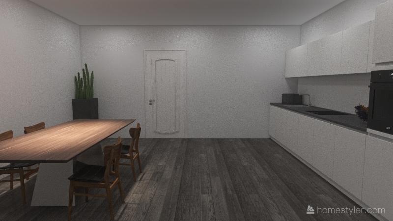 casa Nayara vacaciones Interior Design Render