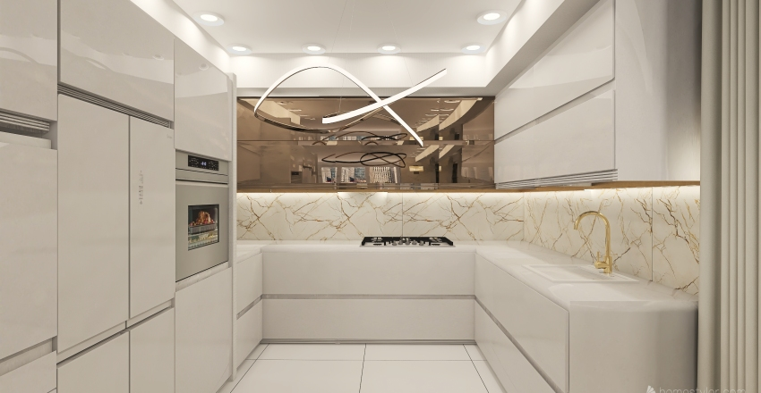 bucatarie u Interior Design Render