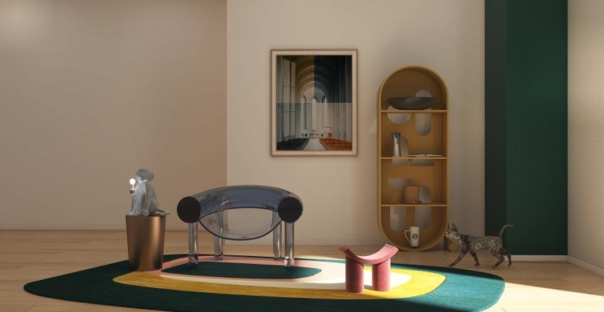 Break-the-Rule Model Collection Interior Design Render
