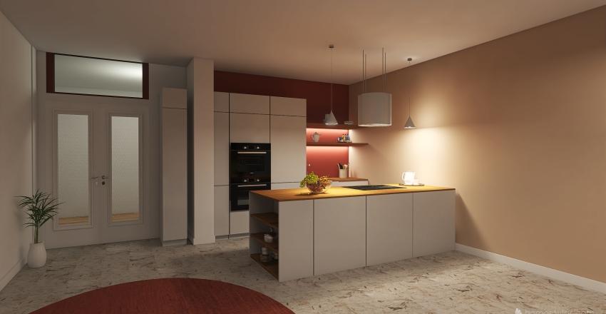 MILANO - PIAZZA BOLIVAR Interior Design Render
