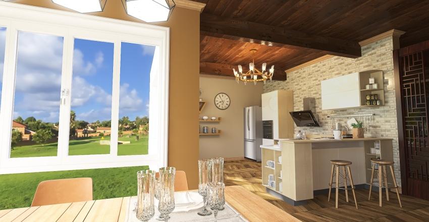 Scottish Retreat Interior Design Render