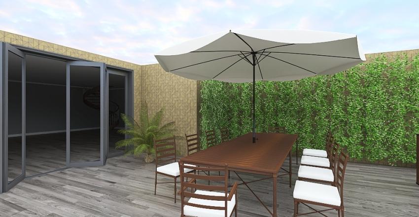 3 bedroom 3 bathroom beach house Interior Design Render
