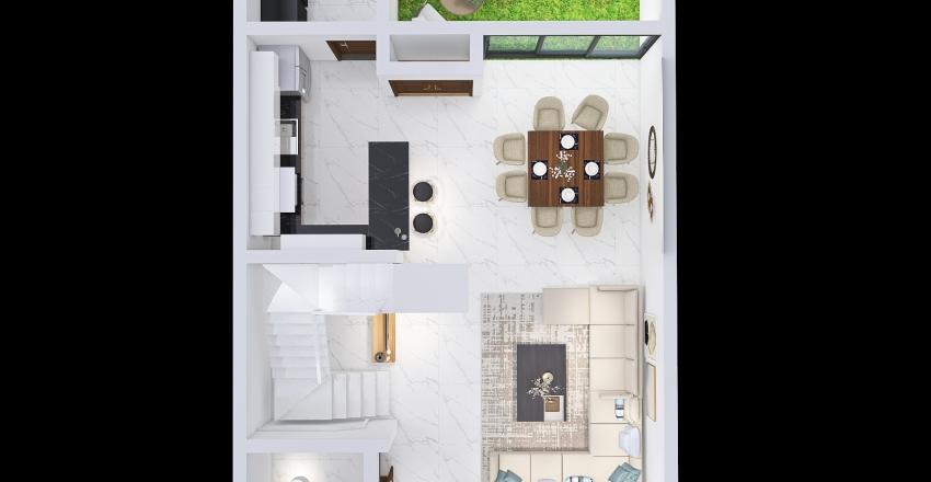 Casa Maru Interior Design Render
