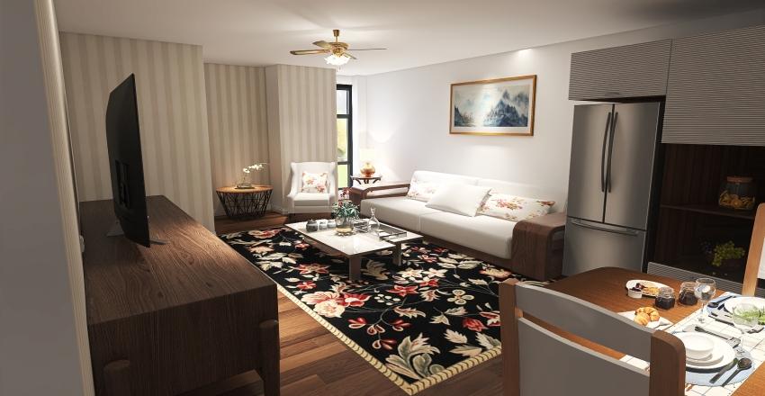 #HSDA2020Residential Beautiful Home in Alabama, USA Interior Design Render