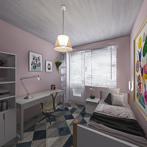 Komnata Na. 5 Interior Design Render