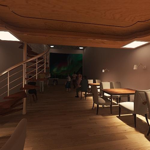 Copy of Кинозал проба пера Interior Design Render