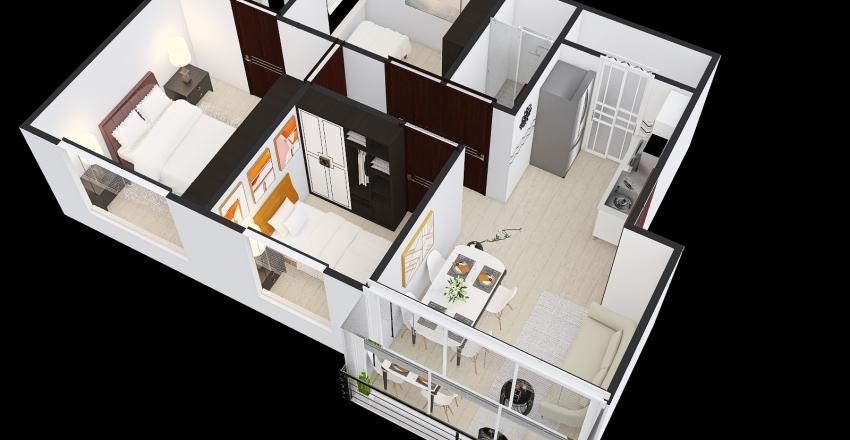 Ambar_Tipo1 Interior Design Render
