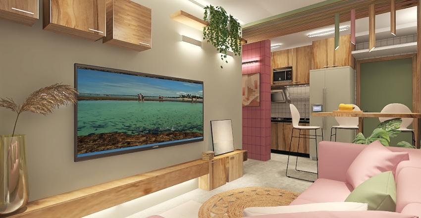 #HSDA2020Residential - Tamandaré Interior Design Render