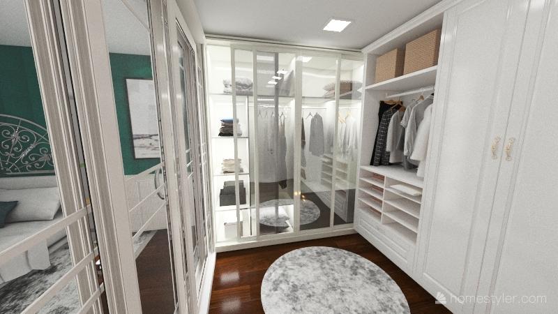 Appartamento soppalcato Interior Design Render