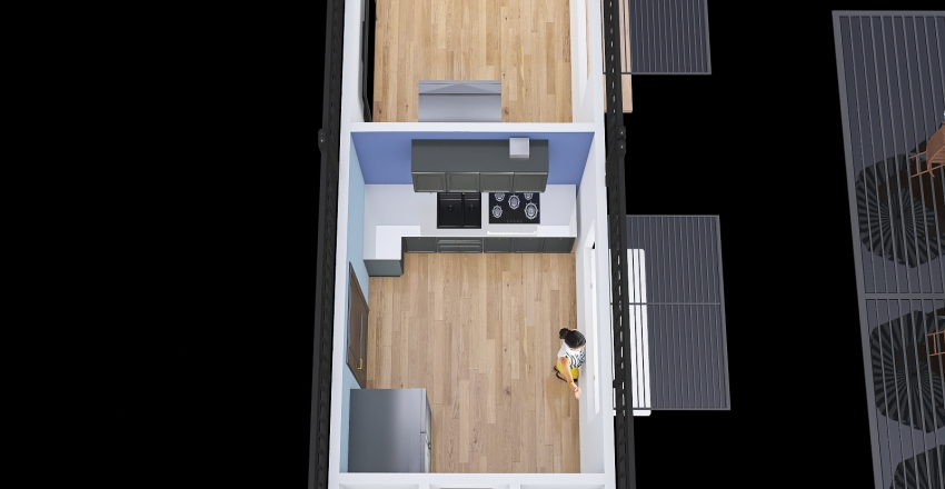 Bodega-  Oficina Interior Design Render