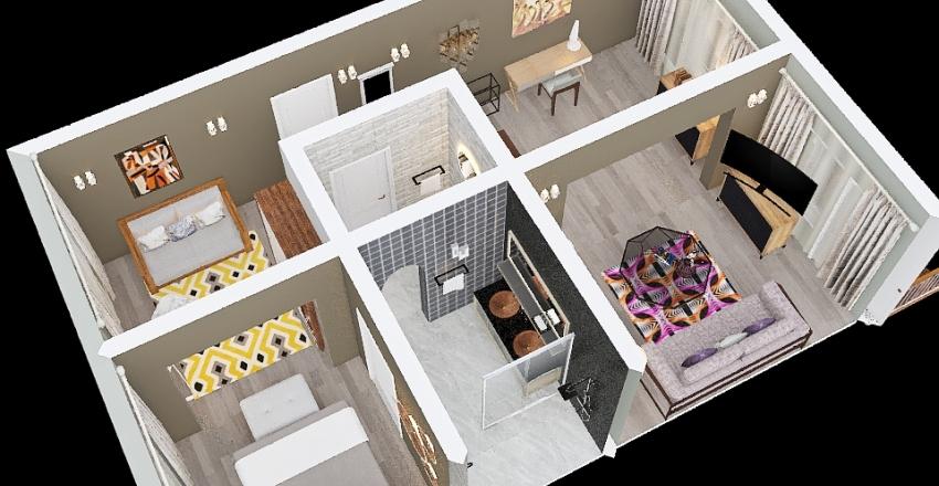 Villa 2021 Junior Interior Design Render