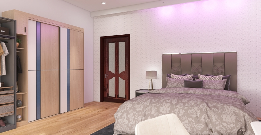 3bdrom 1 storey Interior Design Render