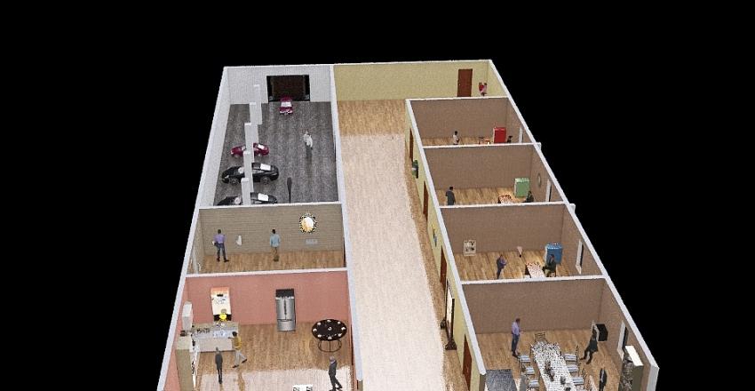 Layout Interior Design Render