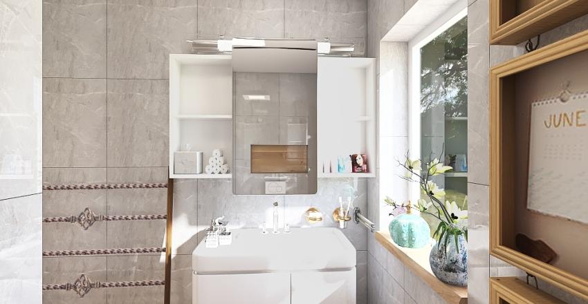 Bathroom 6 Interior Design Render