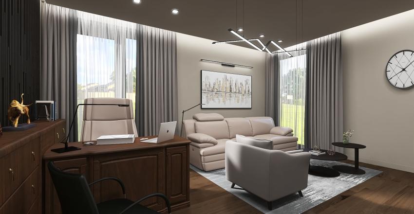 2 этаж Interior Design Render