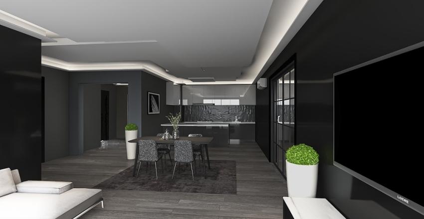 Nyaraló Interior Design Render