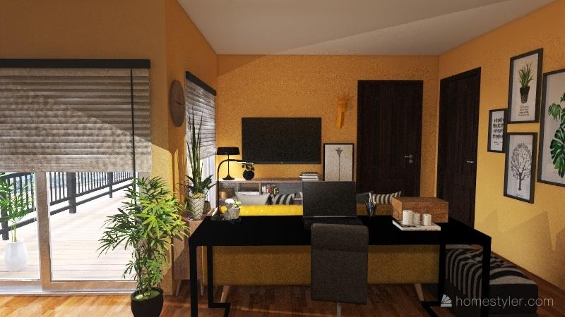 T1 renovado Interior Design Render
