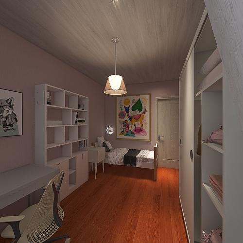 Komnata Na. 4 Interior Design Render