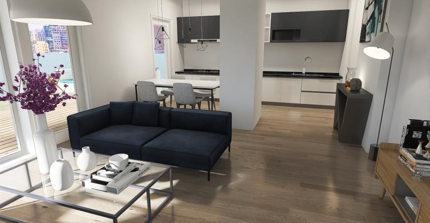 mieszkanie2x Interior Design Render