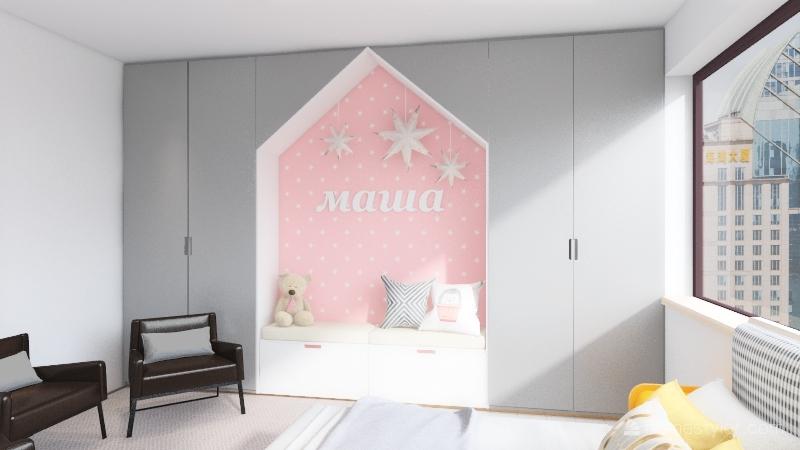 Cozy 3000 Bedroom Interior Design Render