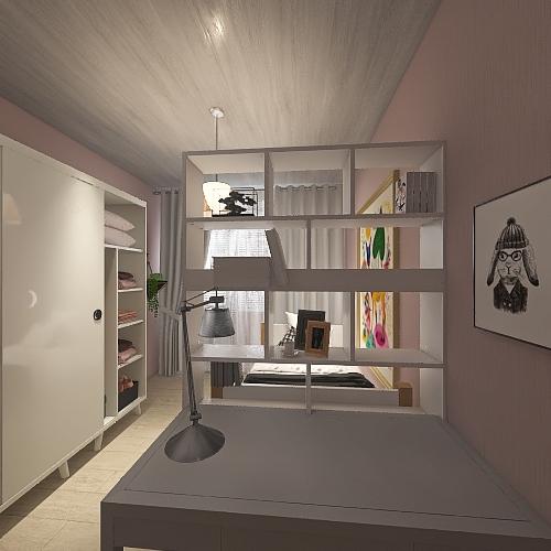 Komnata Na. 3 Interior Design Render