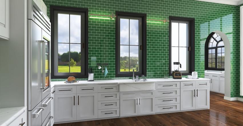 Calm Interior Design Render