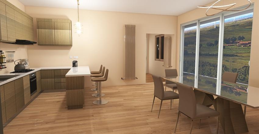 Villa Rose Interior Design Render