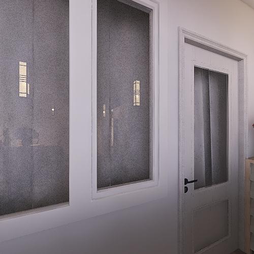 Моя 2к квартира Interior Design Render